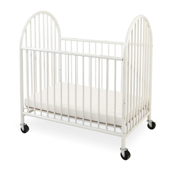 CS-990 LA Baby Arched Metal Mini/Portable Crib