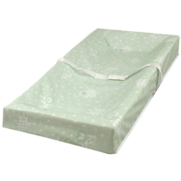 LA-P-3801-VGG 4 Sided Square Corner Changing Pad With Mint Cover