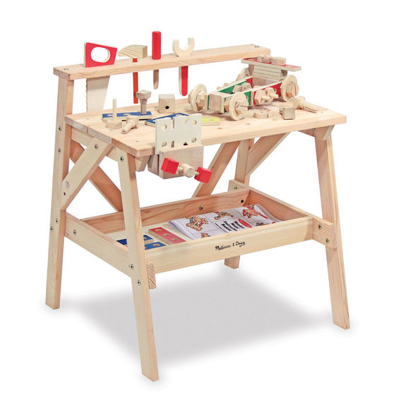 2369 Wooden Project Solid Wood Workbench tools