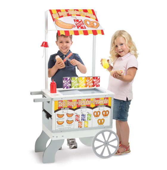 Playsets & Kitchens Snacks & Sweets Food Cart