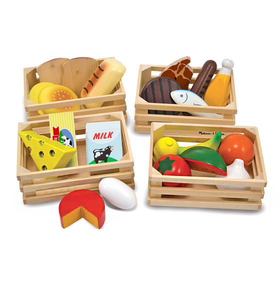Food Groups - Wooden Play Food 271