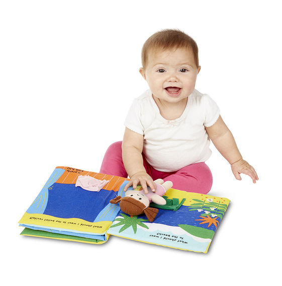 9204 Soft Activity Book - What Should I Wear?