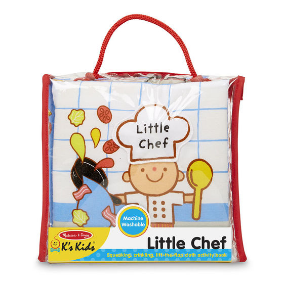 9209 Soft Activity Book - Little Chef