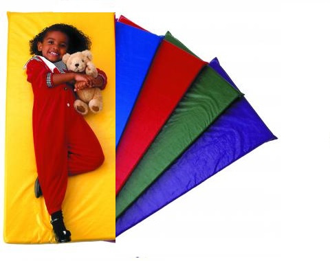 PP Rainbow Nap Mats Assorted - 5 Pack