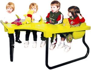 4 seat junior toddler table