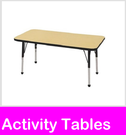 chool Tables, Daycare Tables, Activity Tables, Childcare Tables, Classroom Activity Tables, Daycare Table & Chair sets, toddler tables