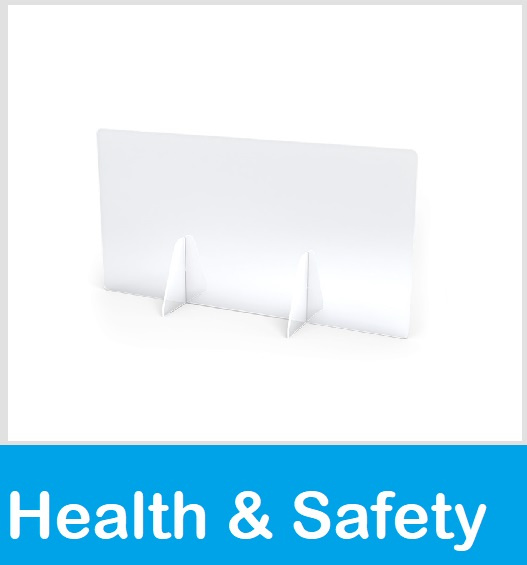 Health and safety covid supplies table plexi glass divider screen