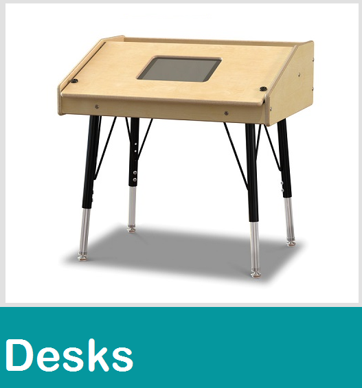 School Desk, Open Front Desk, Metal Student Desks, Classroom Computer Tables