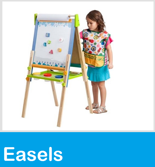 GuideCraft Art Easels, ECR4KIDS Big Book Easel, Puppet Flannel Easels, Painting Easle & School Easels