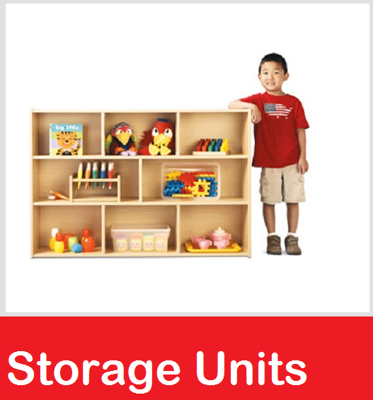 Daycare Storage Shelves, early childhood Storage Units, Preschool Shelves, Block Storage, Cubbies