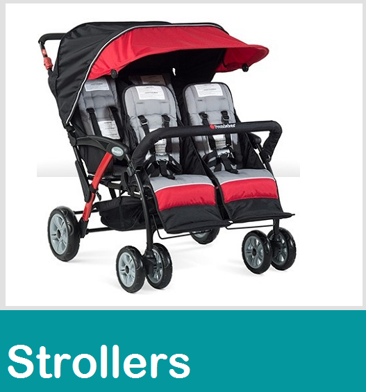 Strollers double triple six passanger seat quad stroller