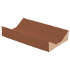 FP-10421-CHSD Ultra-Soft Baby Changer - Chocolate/Sand