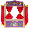 Wooden Tabletop Puppet Theater