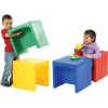 MT-1156 Cube Chairs Set - 4 Pack