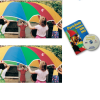 Parachute Activity Pack 2 - 6' KinderChutes plus Book DVD