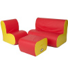 FN-1501 Cloud Seating Group - Red & Yellow